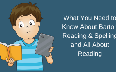 What You Need to Know About Barton Reading & Spelling and All About Reading